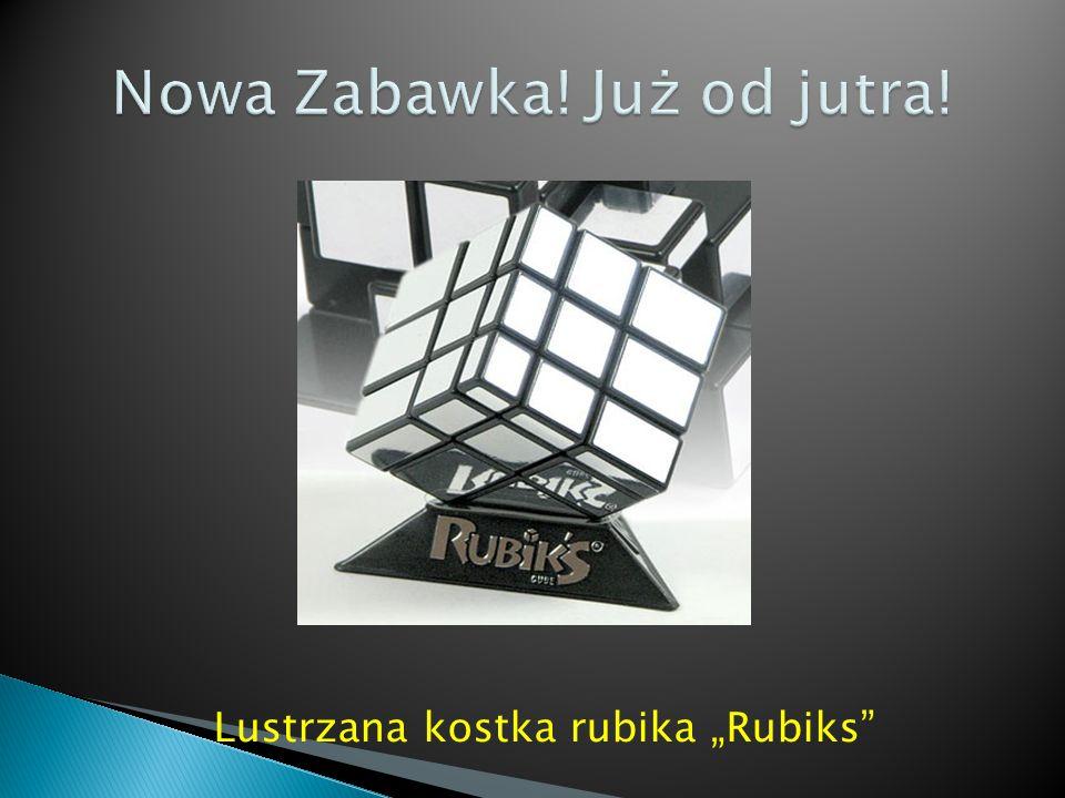 """Lustrzana kostka rubika """"Rubiks"""" Okazja! Jedynie 16,99 kwadrato - banknotów"""