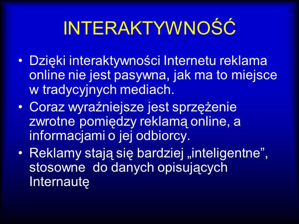 Interstitial Interstitial jest to całostronicowa reklama w Sieci, podobna w formie do telewizyjnej, pojawia się w trakcie ładowania kolejnej Strony.