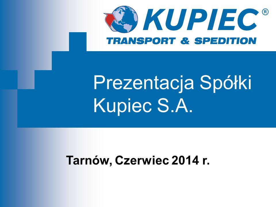 Prezentacja Spółki Kupiec S.A. Tarnów, Czerwiec 2014 r.