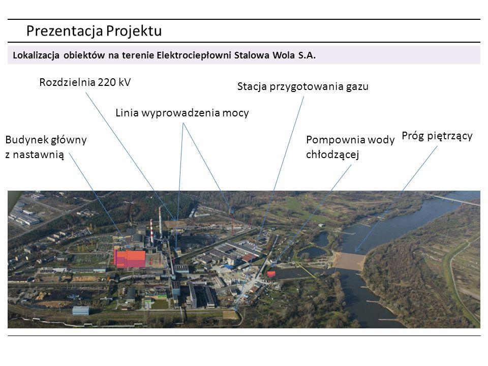 Prezentacja parametrów Projektu Parametr JednostkaWartość Moc elektryczna turbiny gazowej (max) MW311,9 Moc elektryczna turbiny parowej (max) MW159 Sprawność bloku brutto%57,75 – 81,94 Produkcja energii elektrycznej (roczna) GWh~3500 Produkcja ciepła (roczna)TJ~1600 Produkcja energii elektrycznej w wysokosprawnej kogeneracji (roczna) GWh~1000 Zużycie godzinowe gazu (max) m 3 /h81281 Roczne zużycie gazumln m 3 /rok~600 Podstawowe parametryCharakterystyka techniczna bloku Moc elektryczna449,16 Produkty Energia elektryczna Ciepło (para wodna) Ciepło (gorąca woda) PaliwoGaz ziemny wysokometanowy Cena Oferty (netto) Kontrakt na budowę BGP + długoterminowa umowa serwisowa turbiny gazowej 1 571 334 680,00 PLN Data uruchomienia2015 r.