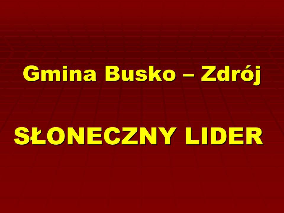 Gmina Busko – Zdrój SŁONECZNY LIDER