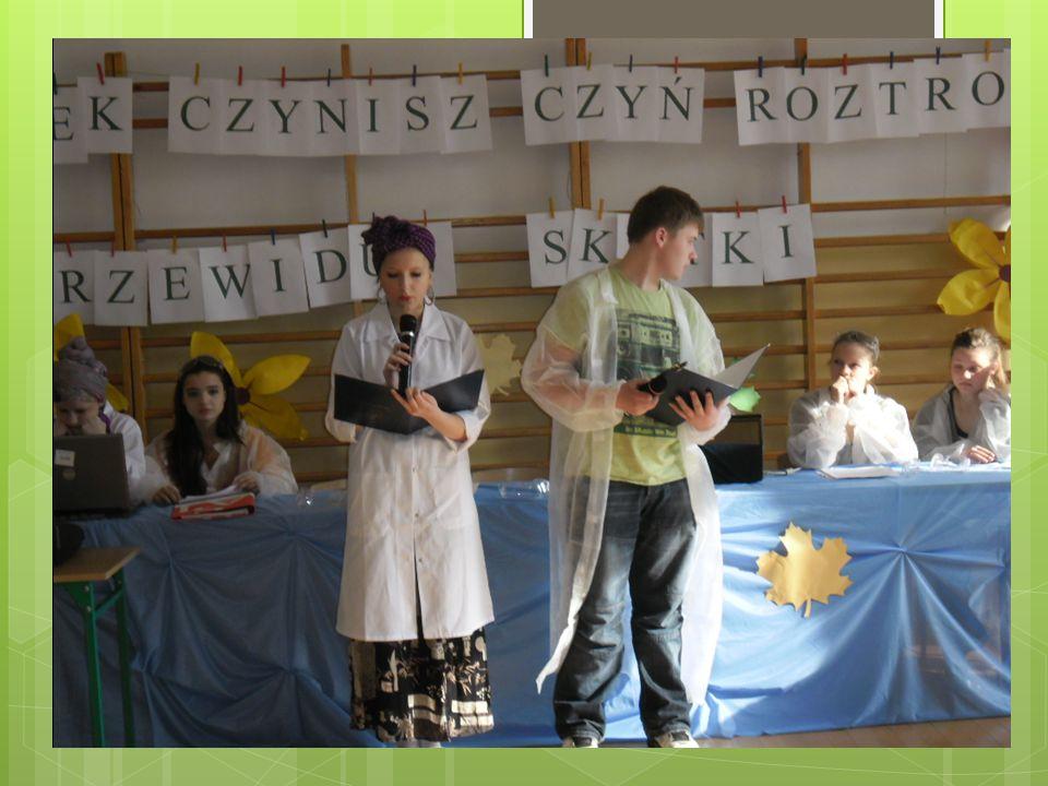 W dniu 15 maja w Gimnazjum nr 2 odbył się międzyszkolny konkurs frazeologiczny.