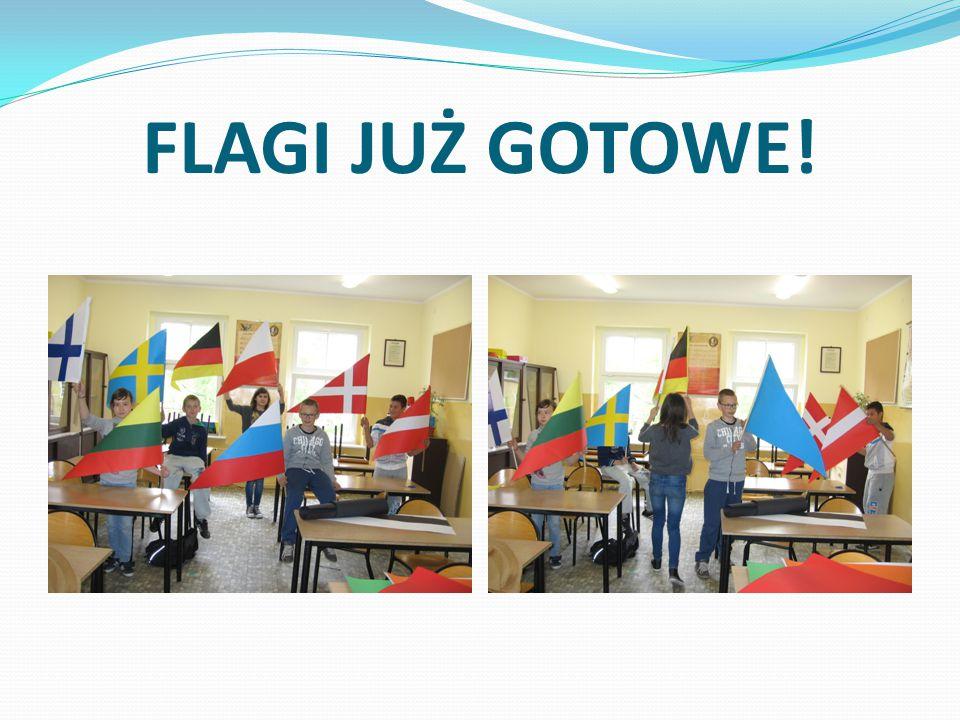 FLAGI JUŻ GOTOWE!