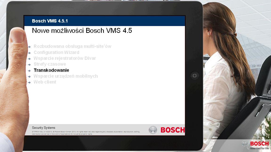 ST-VS/RBU1 | 1/11/2013 | © Robert Bosch GmbH 2013.