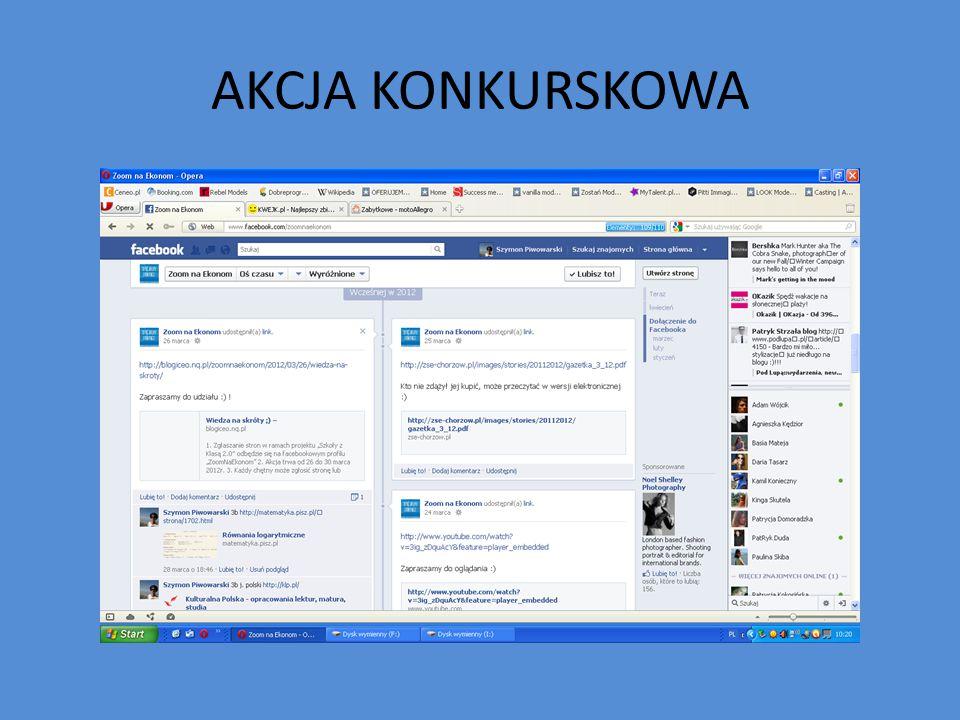 AKCJA KONKURSKOWA