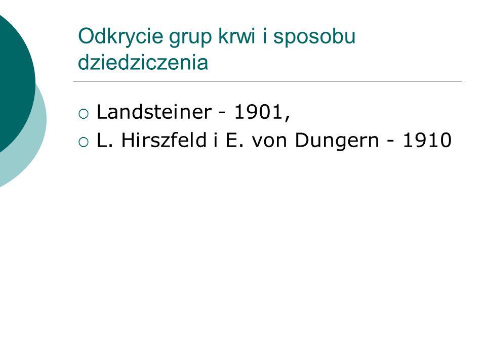 Pierwsza w Polsce transfuzja wymienna u noworodka  1939 r.