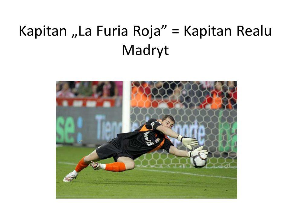 "Kapitan ""La Furia Roja"" = Kapitan Realu Madryt"