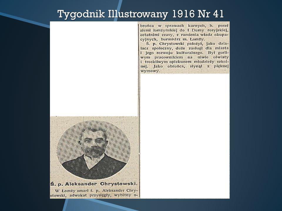 Tygodnik Illustrowany 1916 Nr 41