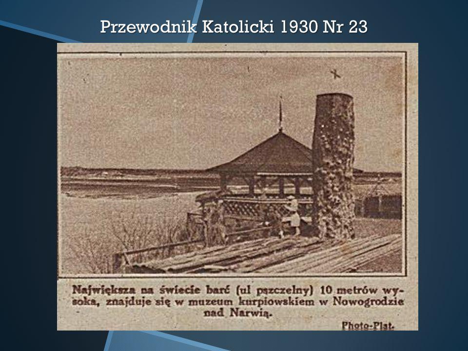 Przewodnik Katolicki 1930 Nr 23