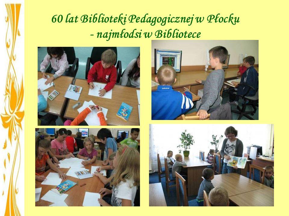 60 lat Biblioteki Pedagogicznej w Płocku - najmłodsi w Bibliotece