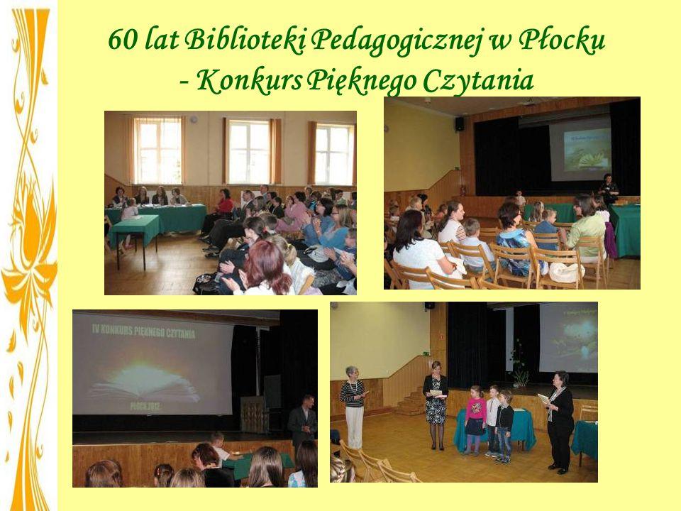 60 lat Biblioteki Pedagogicznej w Płocku - Konkurs Pięknego Czytania