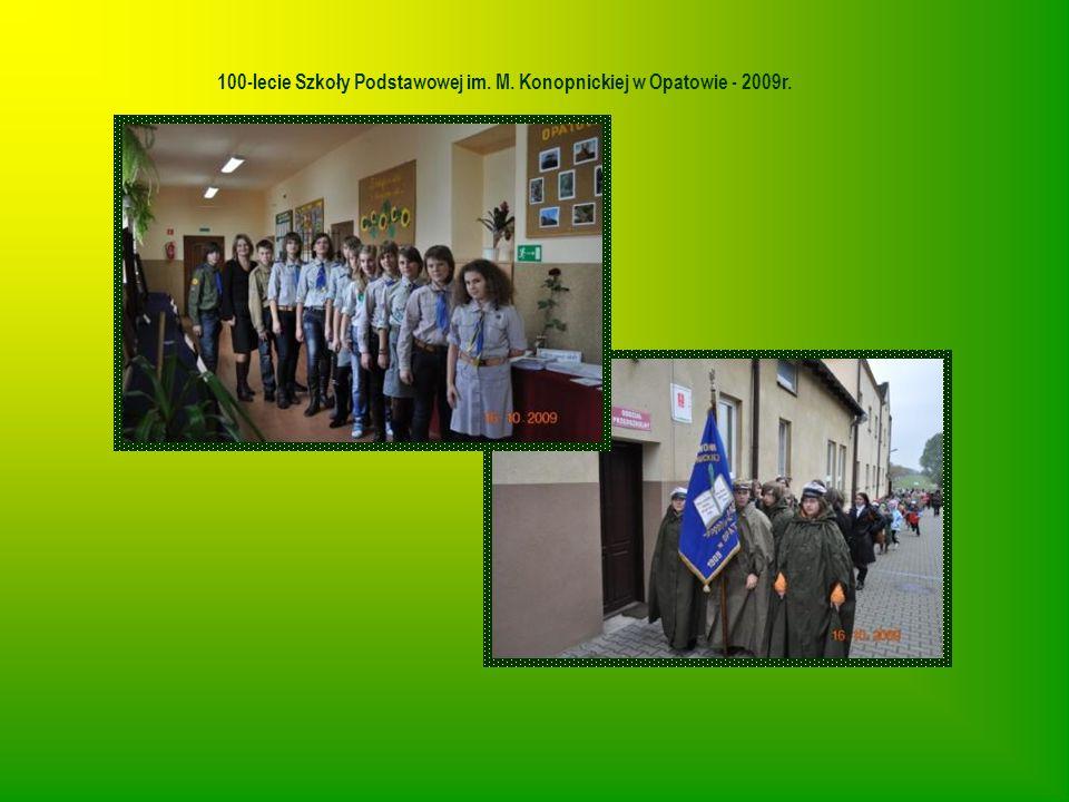 100-lecie Szkoły Podstawowej im. M. Konopnickiej w Opatowie - 2009r.