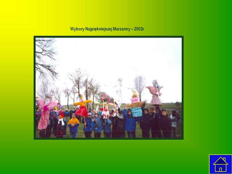 Wybory Najpiękniejszej Marzanny – 2002r.