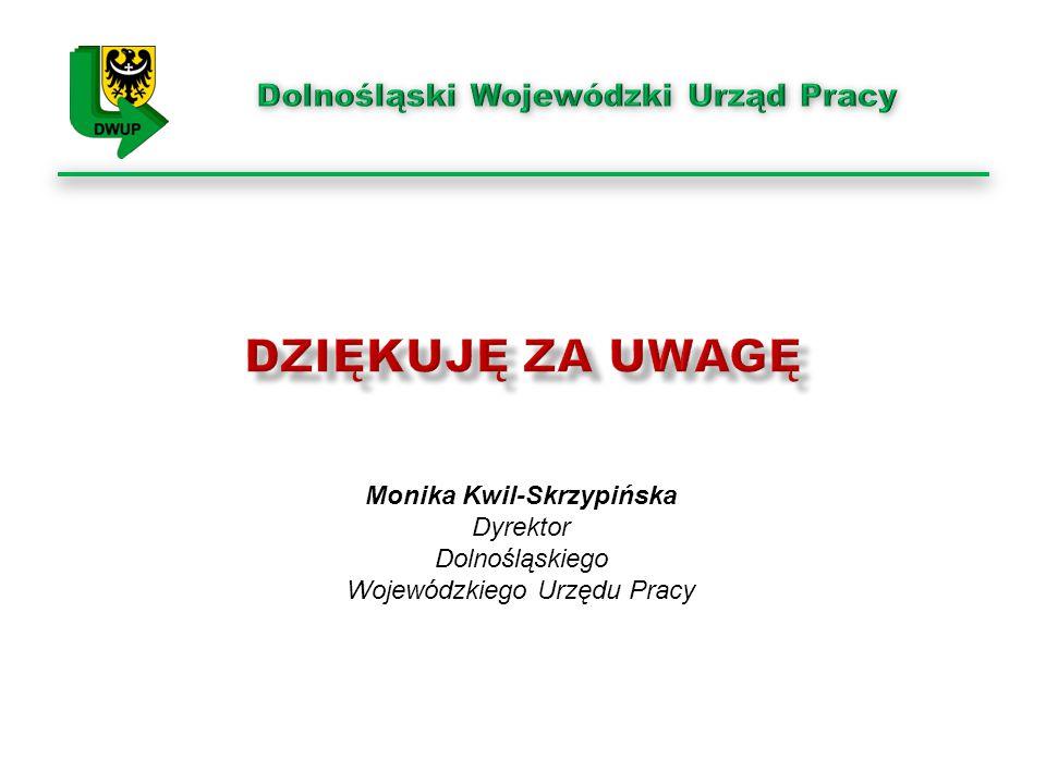Monika Kwil-Skrzypińska Dyrektor Dolnośląskiego Wojewódzkiego Urzędu Pracy