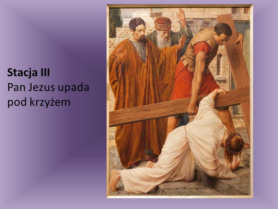 Stacja XIV Pan Jezus w grobie złożony