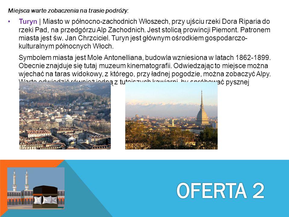 Miejsca warte zobaczenia na trasie podróży: Turyn | Miasto w północno-zachodnich Włoszech, przy ujściu rzeki Dora Riparia do rzeki Pad, na przedgórzu
