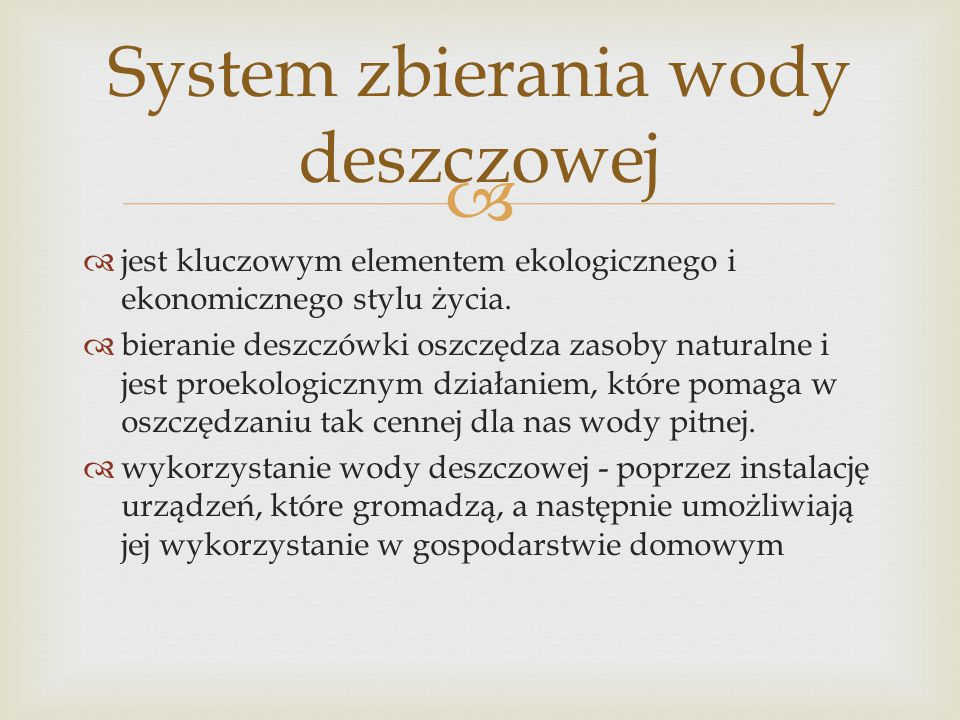   jest kluczowym elementem ekologicznego i ekonomicznego stylu życia.