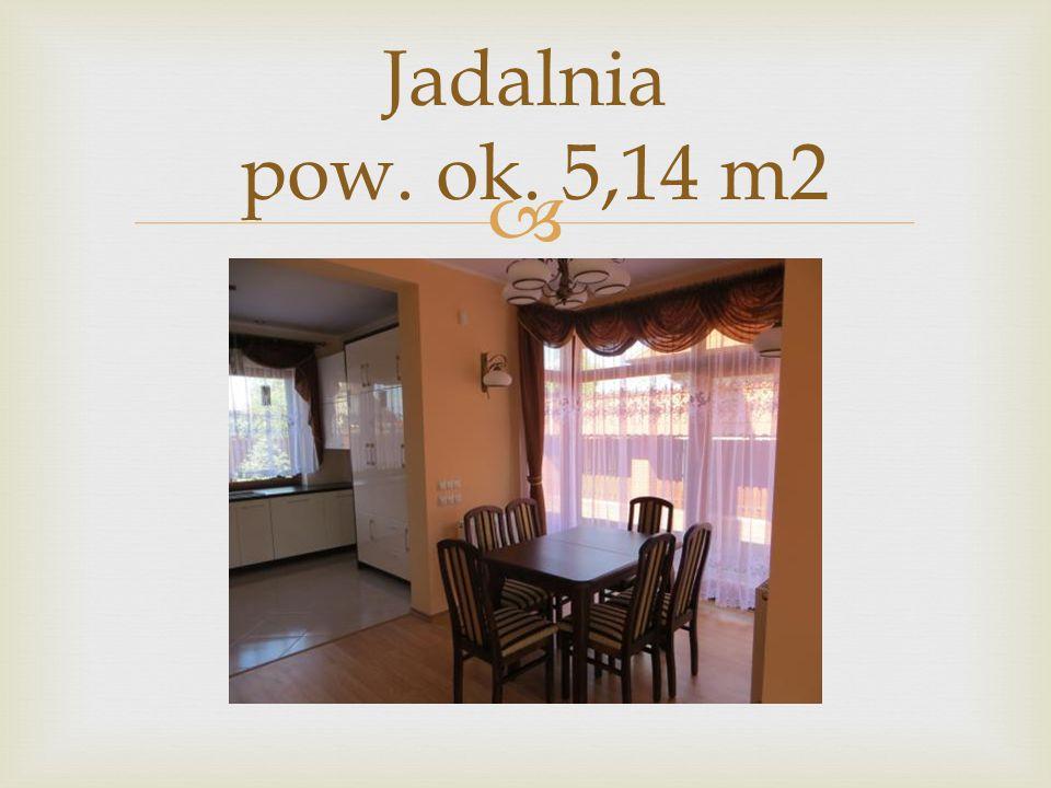  Jadalnia pow. ok. 5,14 m2