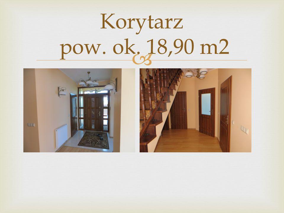  Korytarz pow. ok. 18,90 m2