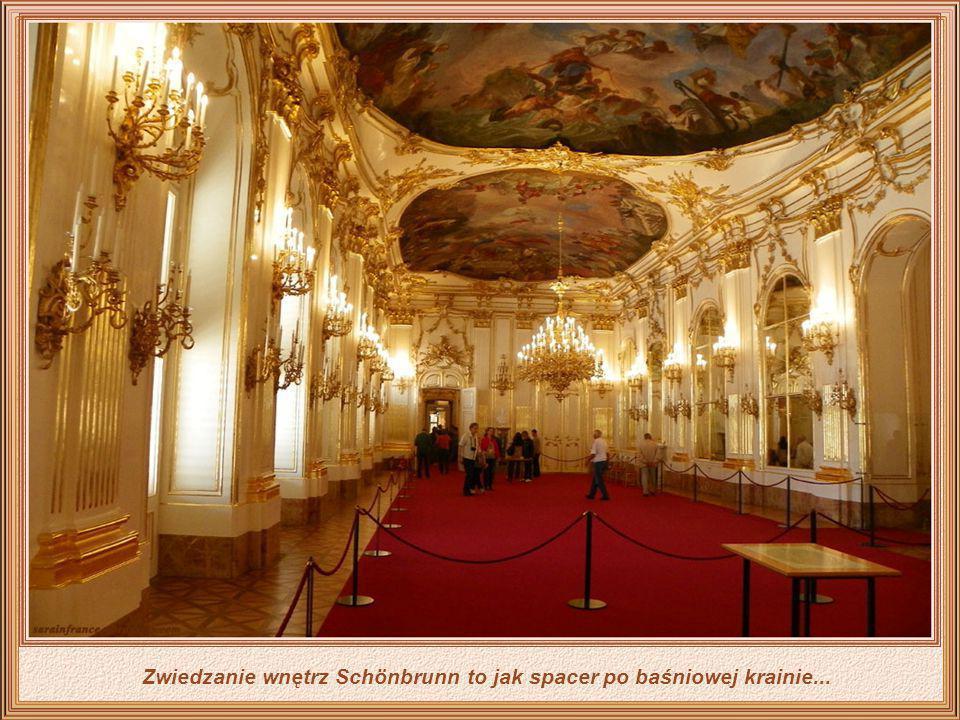 Pałac Schönbrunn to jeden z głównych zabytków historycznych i kulturalnych w Austrii. Zbudowany w latach 1638-1643 był poważnie uszkodzony podczas dru