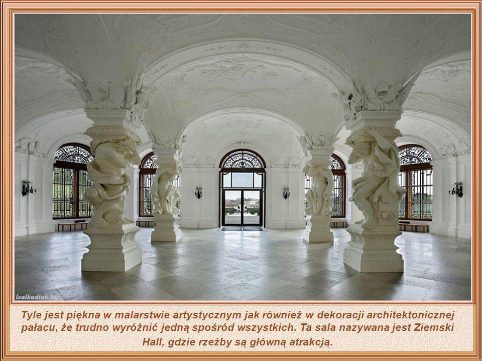Kompleks Belvedere składa się z dwóch pałaców - górnego i dolnego oraz ogrodów. Zbudowany był dla księcia Eugeniusza Sabaudzkiego - filozofa i miłośni