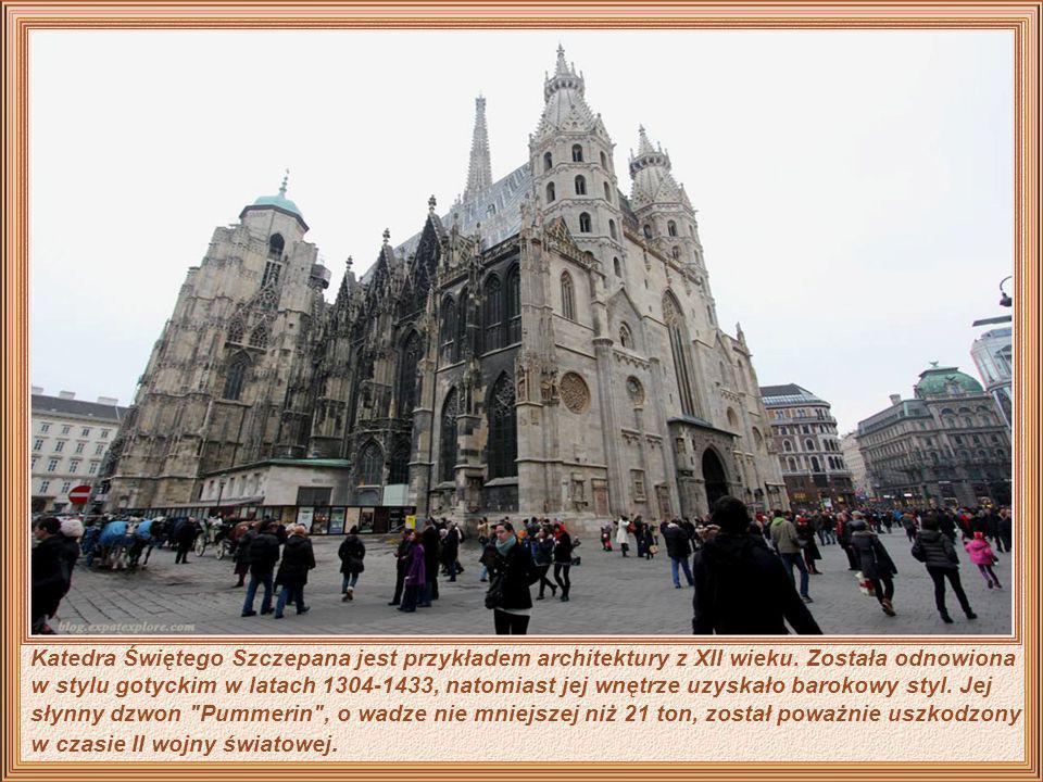 Minoritenkirche - zbudowany w 1275, jest jednym z pierwszych gotyckich kościołów w Austrii, gdzie znajduje się kopia słynnych ściennych mozajek Leonar