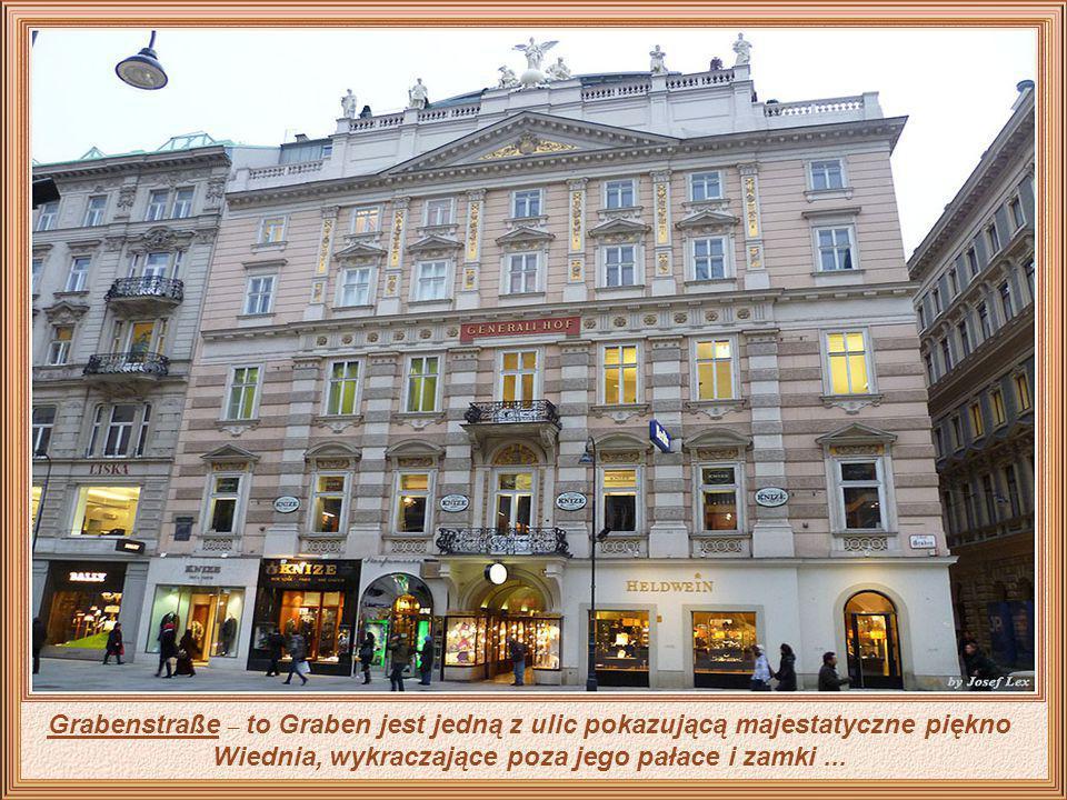 W codziennym życiu Wiednia Graben jest pulsującą ulicą handlową w samym centrum miasta, gdzie znajduje się słynna kolumna. Ulica ma pochodzenie rzymsk