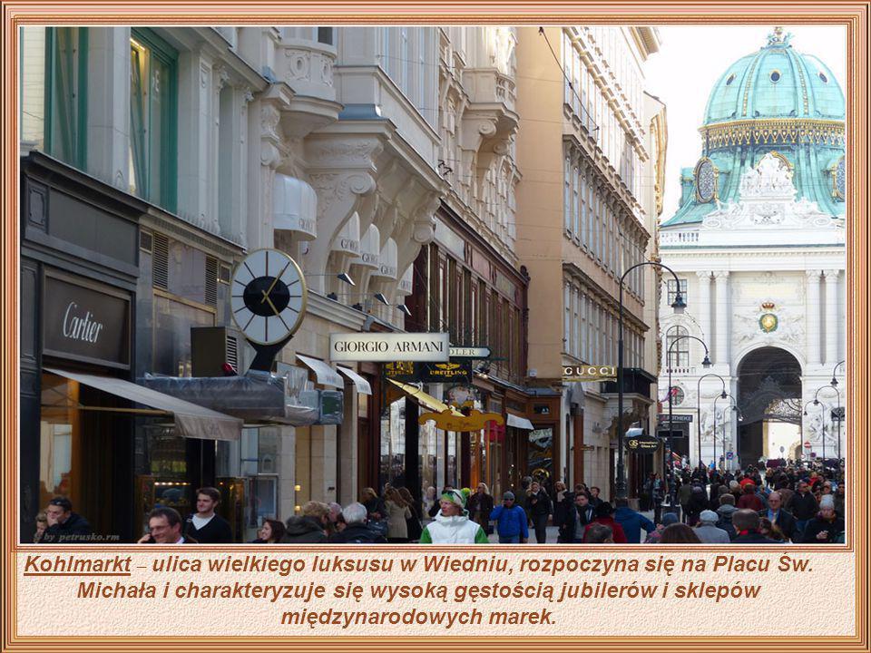 Mimo, że w Wiedniu na każdym kroku można spotkać ogrody kwiatowe, które są szczególnym rodzajem piękna, nie można chodząc po ruchliwych ulicach miasta