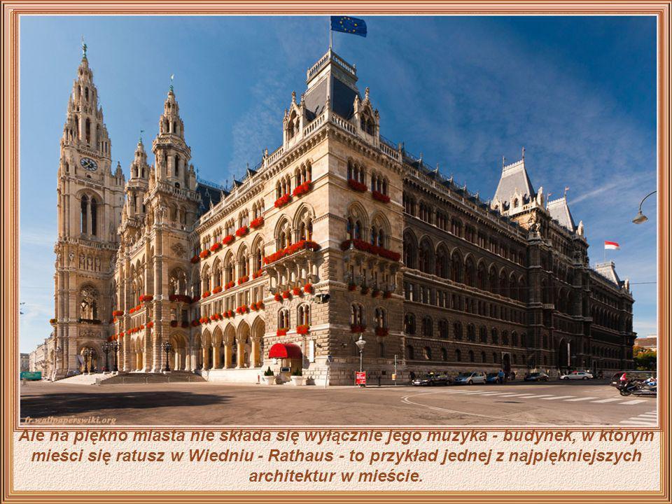 Wiedeń to stolica i ojczyzna nie tylko Straussa i Mozarta, Haydna, Schuberta, Mahlera, etc. - To muzyka i romantyzm witające gości z otwartymi ramiona
