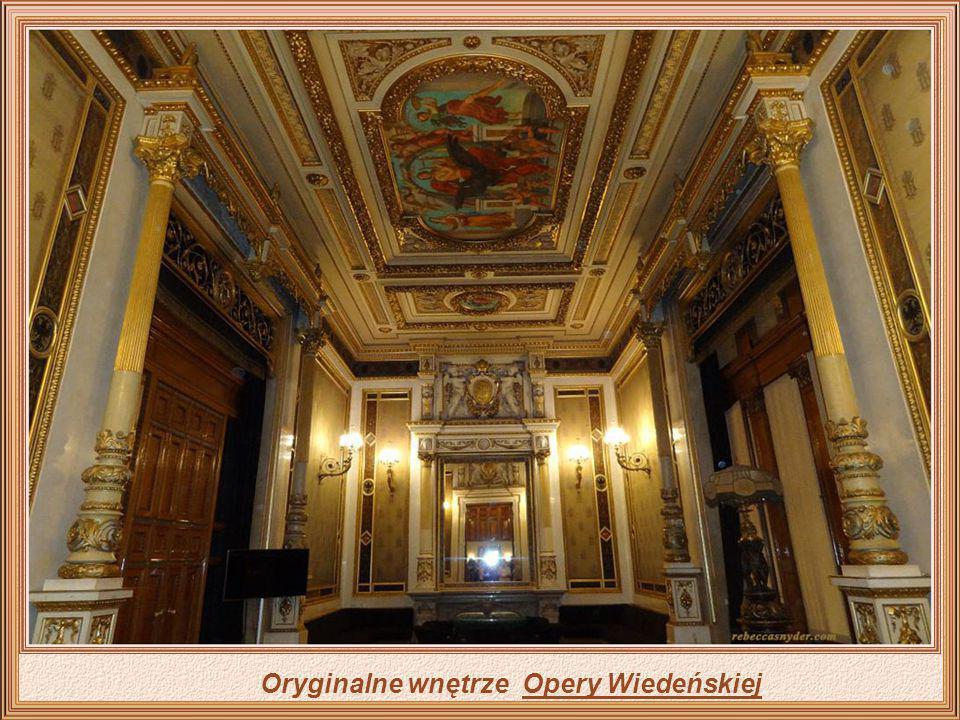 Ponieważ Wiedeń był miejscem narodzin wielkiej muzyki i wielkich nazwisk, które błyszczały nie tylko w całej Europie, poziom jego opery pozostaje jedn