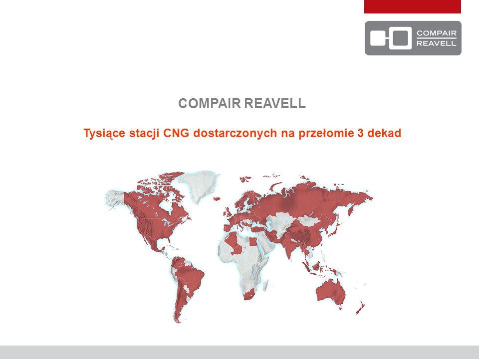 COMPAIR REAVELL Tysiące stacji CNG dostarczonych na przełomie 3 dekad