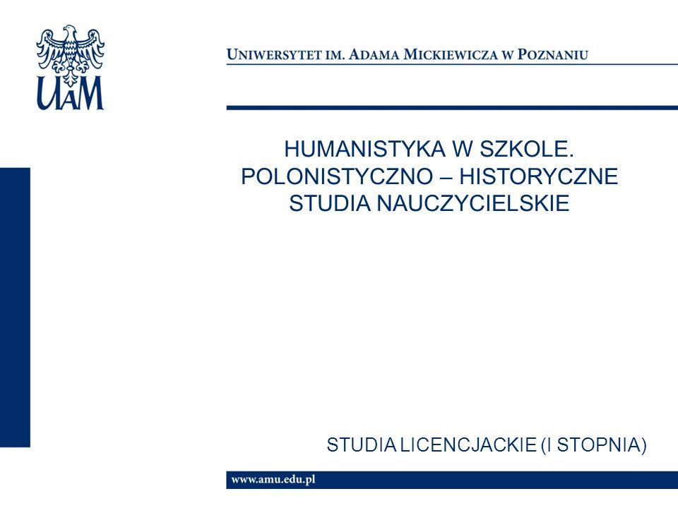HUMANISTYKA W SZKOLE.