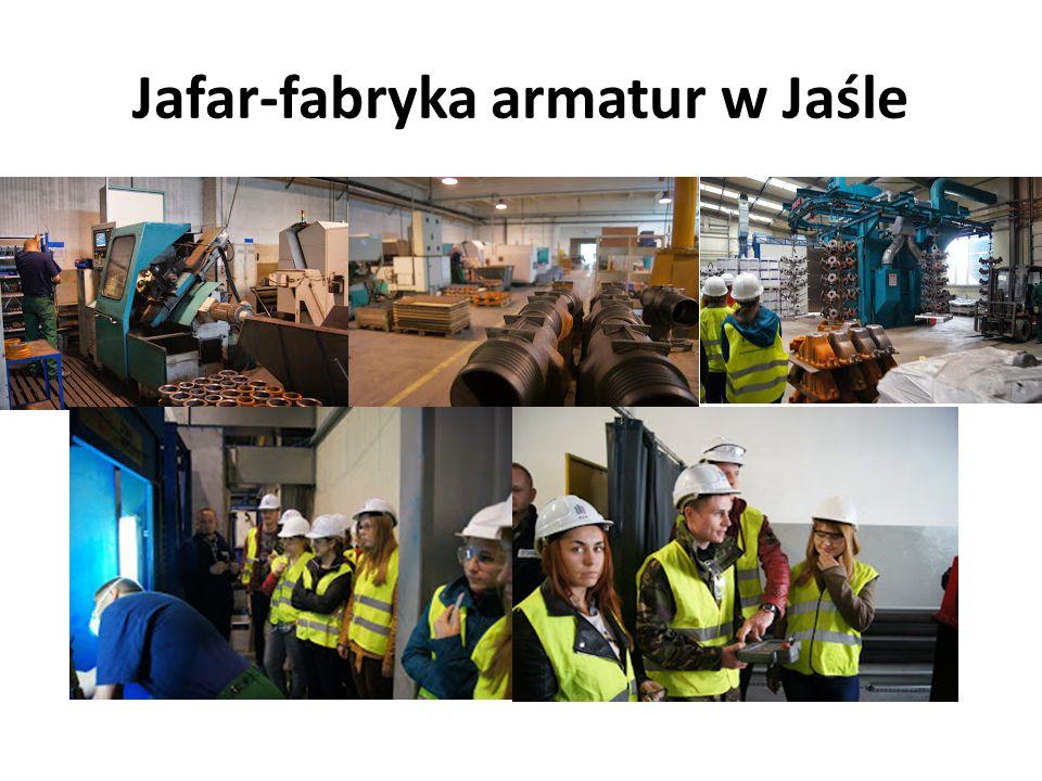Jafar-fabryka armatur w Jaśle