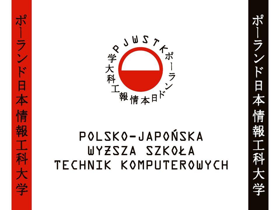 1994 Powstanie PJWSTK na mocy porozumienia pomiędzy rządami Polski i Japonii Wpis do rejestru niepaństwowych szkół wyższych pod numerem 51 Uzyskanie uprawnień do nadawania tytułu inżyniera informatyki 1998 Uzyskanie uprawnień do nadawania tytułu magistra inżyniera informatyki 2002 Uzyskanie uprawnień do nadawania stopnia naukowego doktora nauk technicznych w dyscyplinie informatyka 2009 Uzyskanie uprawnień do nadawania stopnia naukowego doktora habilitowanego nauk technicznych w dyscyplinie informatyka