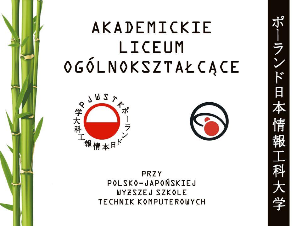 Liceum Ogólnokształcące przy Polsko – Japońskiej Wyższej Szkole Technik Komputerowych (PJWSTK) rozpoczęło swoją działalność we wrześniu 2007 roku jako Informatyczne Liceum Ogólnokształcące z programem nauczania nastawionym na nauki ścisłe, przede wszystkim informatykę.
