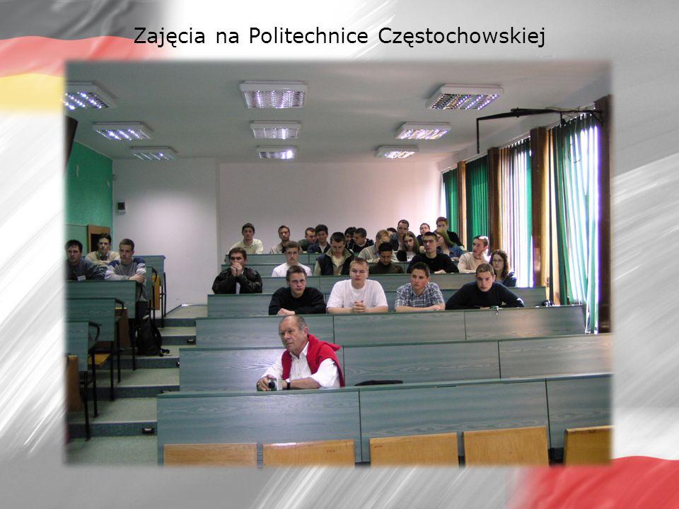 Zajęcia na Politechnice Częstochowskiej