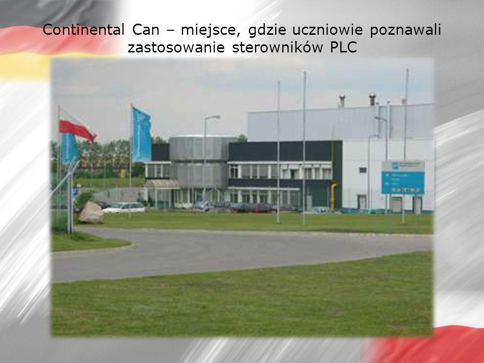 Continental Can – miejsce, gdzie uczniowie poznawali zastosowanie sterowników PLC