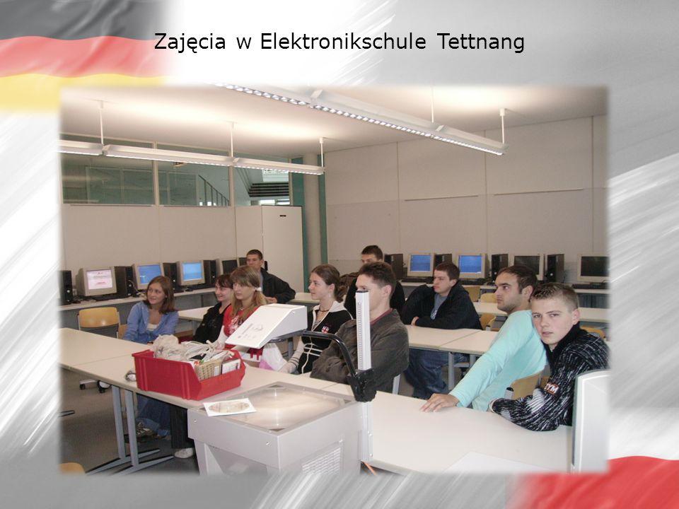 Zajęcia w Elektronikschule Tettnang