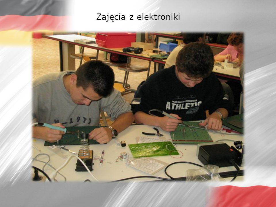 Zajęcia z elektroniki
