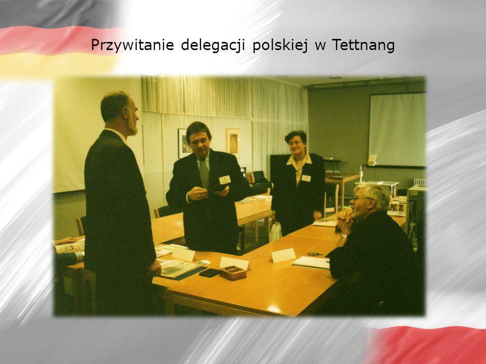 Przylot grupy niemieckiej do Polski