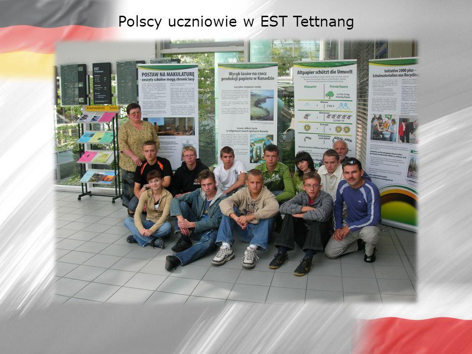 Polscy uczniowie w EST Tettnang
