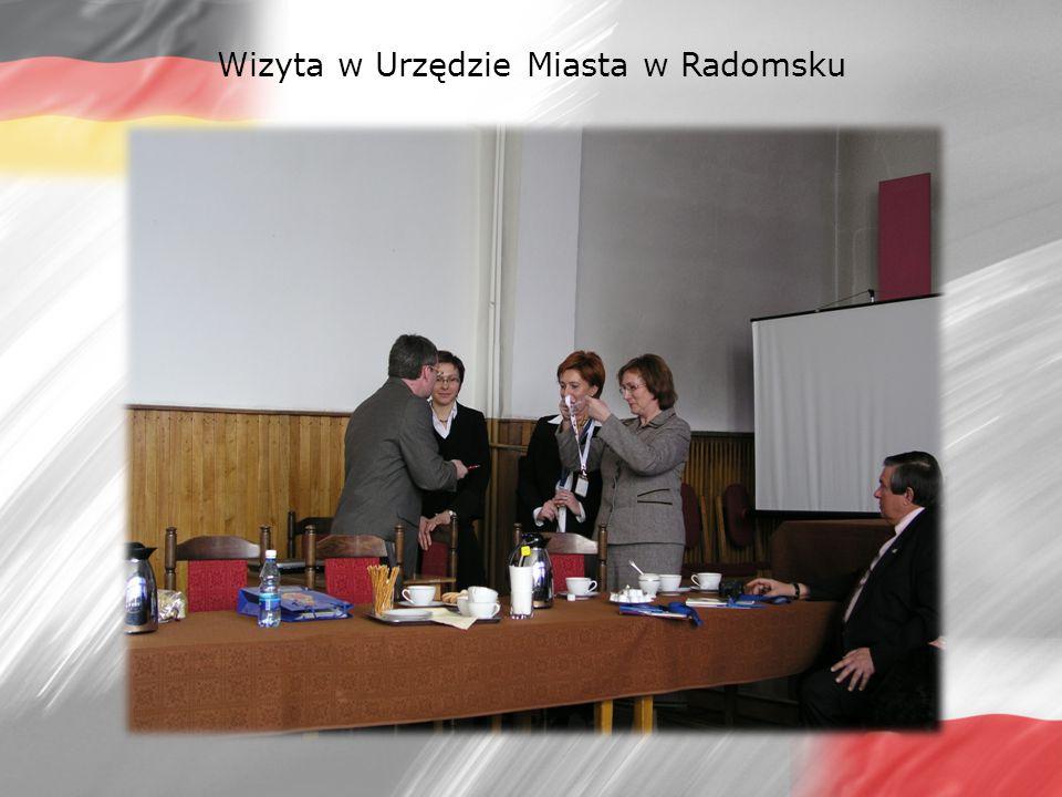 Wizyta w Urzędzie Miasta w Radomsku