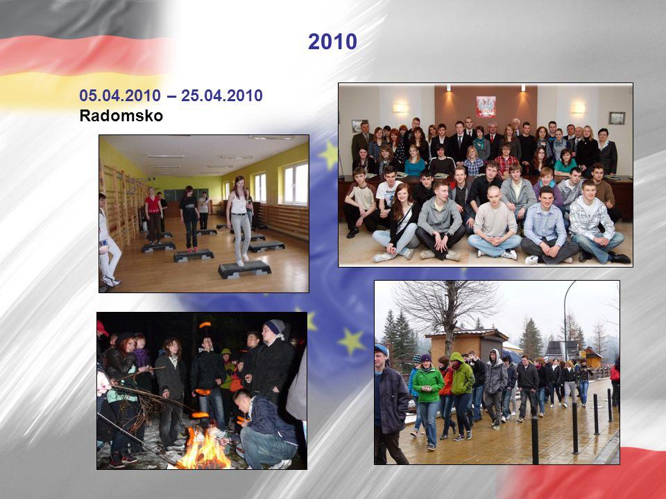 2010 05.04.2010 – 25.04.2010 Radomsko