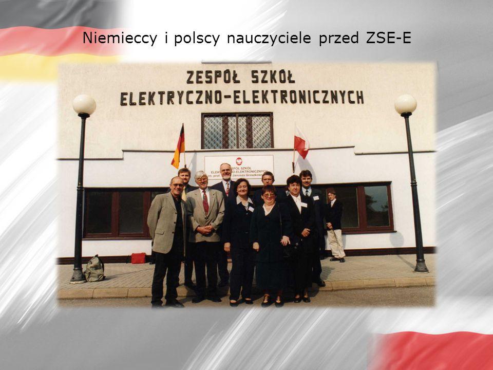 Niemieccy i polscy nauczyciele przed ZSE-E
