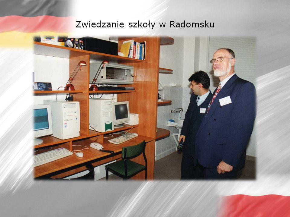 Zwiedzanie szkoły w Radomsku