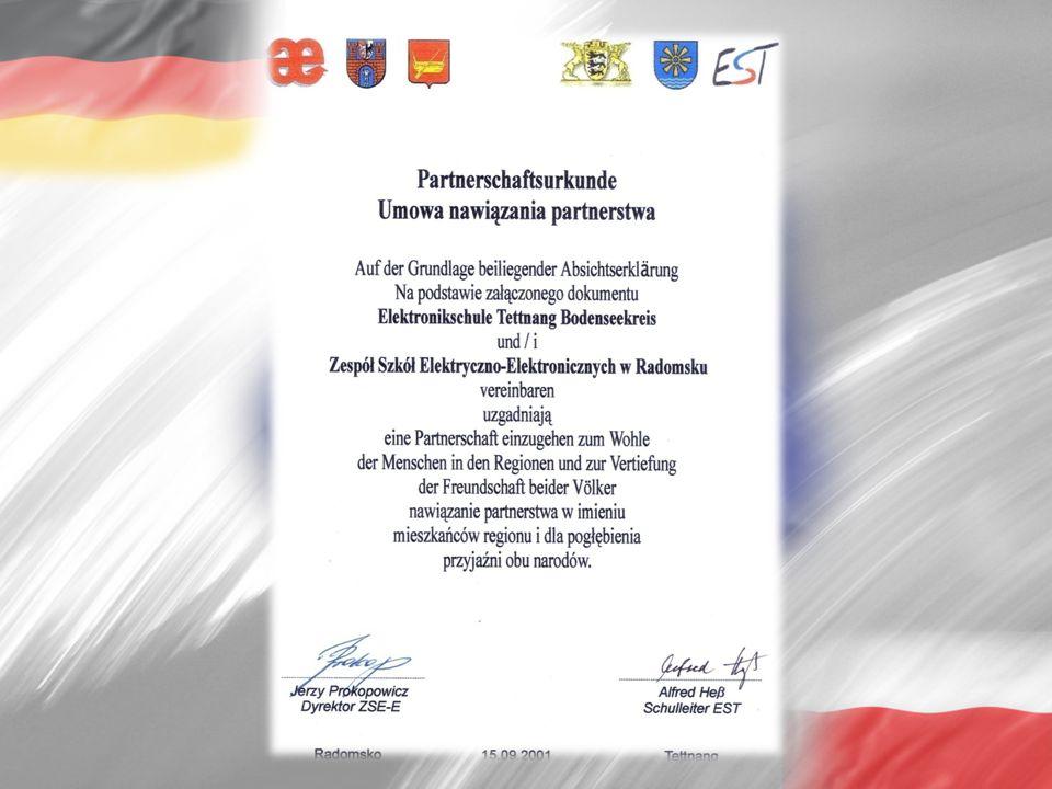 """28.03.2005 – 17.04.2005 Radomsko """"EBBARADO – Analiza zużycia energii Opracowanie polityki proekologicznej szkoły 2005"""