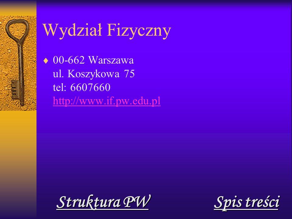 Wydział Geodezji i Kartografii  00-661 Warszawa pl.