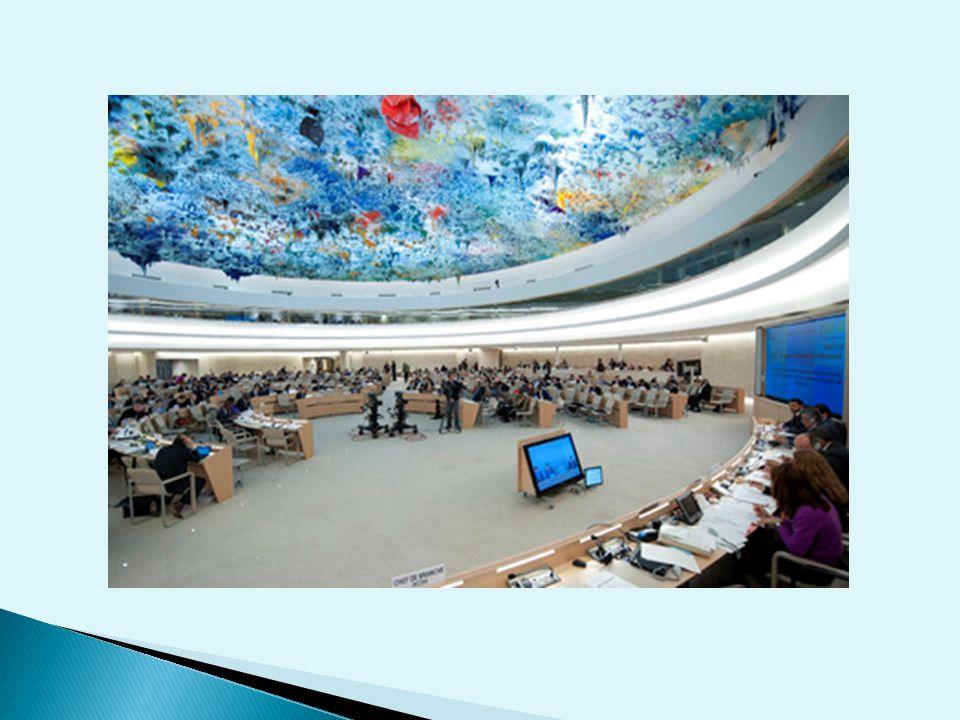  Szanse ◦ zgoda co do okresowego przeglądu dorobku i niedociągnięć w dziedzinie praw człowieka wszystkich państw ◦ proces przygotowawczy na poziomie krajowym oparty na zasadzie partycypacji ◦ wypracowanie wspólnego podejścia do oceny realizacji praw człowieka w skali całej Rady – ograniczenie/wyeliminowanie tzw.