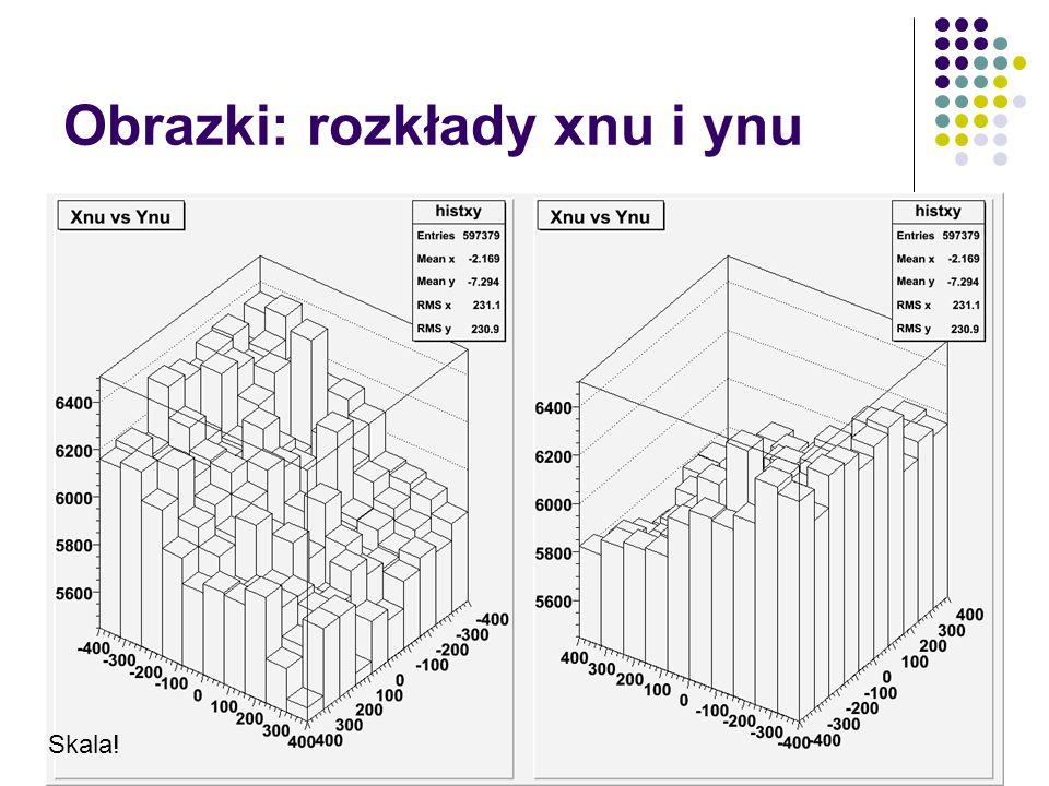 Obrazki: rozkłady xnu i ynu Skala!