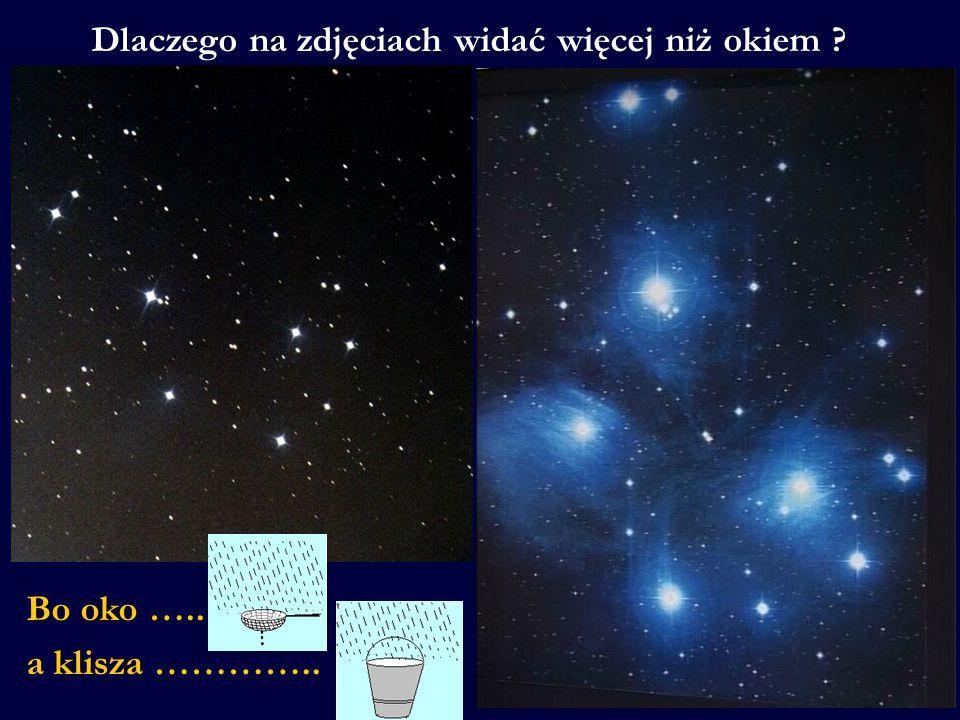 Dlaczego obrazy mgławic i galaktyk są tak barwne w przeciwieństwie do tych, jakie widzimy okiem.
